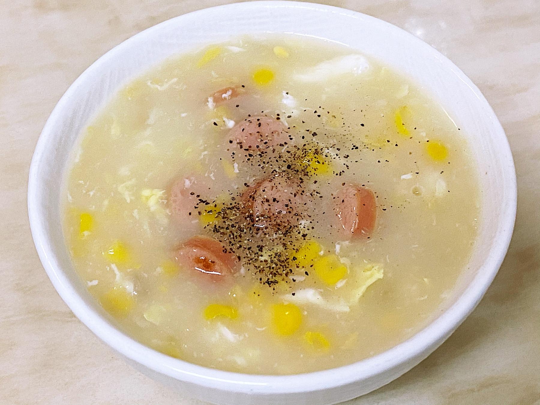 家常玉米濃湯