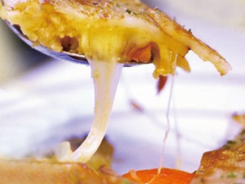 馬鈴薯香腸蘑菇芝士煎餅