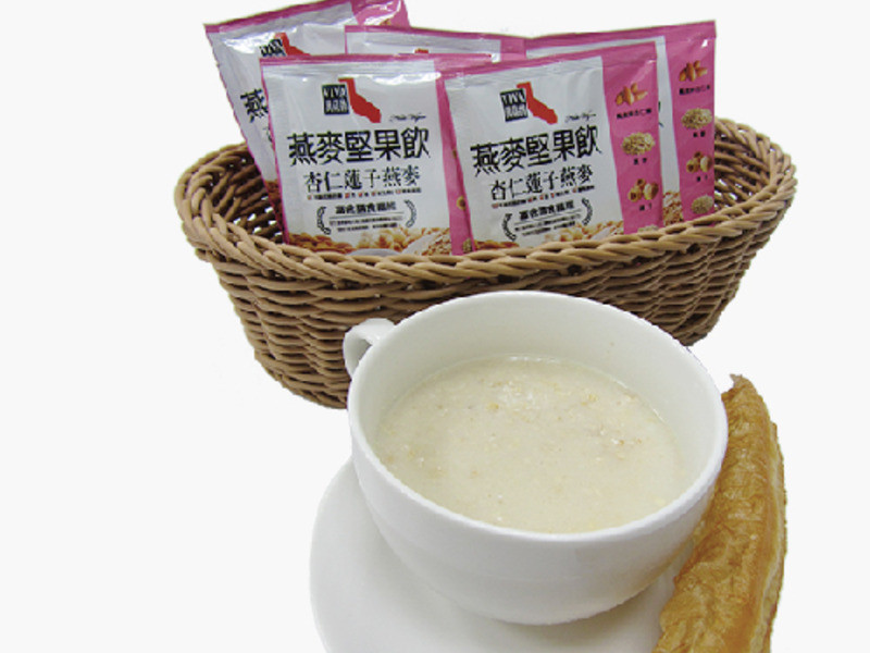 杏仁蓮子燕麥油條