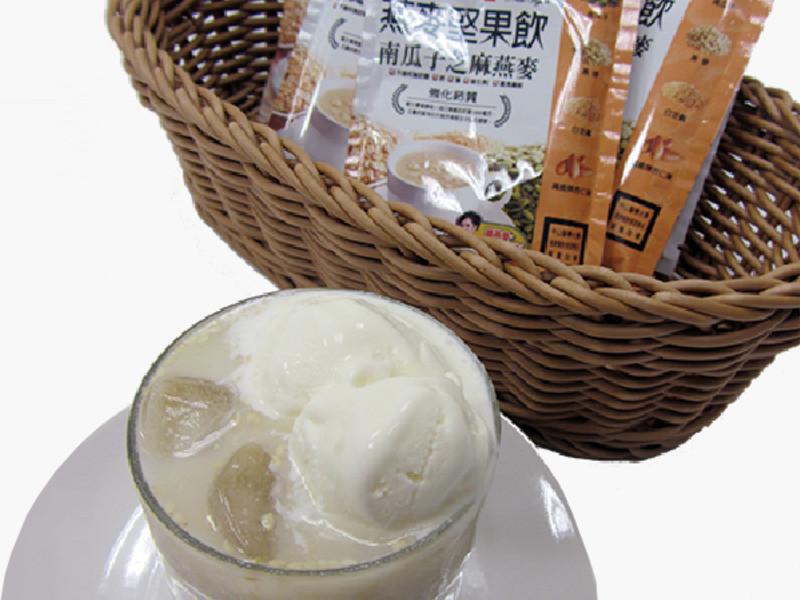 南瓜子芝麻燕麥冰淇淋