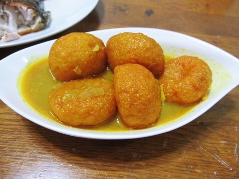 甜蜜蜜昱光廚房  ✎手作-01 ✿咖哩魚蛋✿