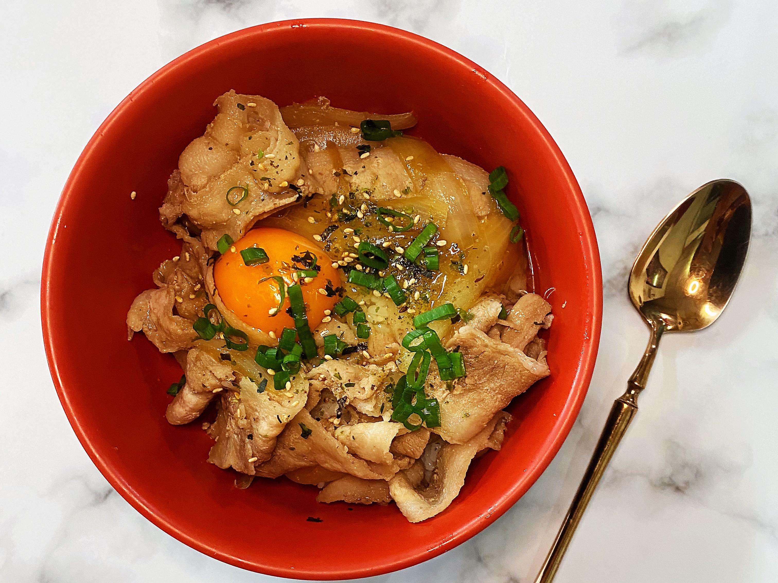 牛丼/豬肉丼飯(簡易版)飛利浦智慧萬用鍋