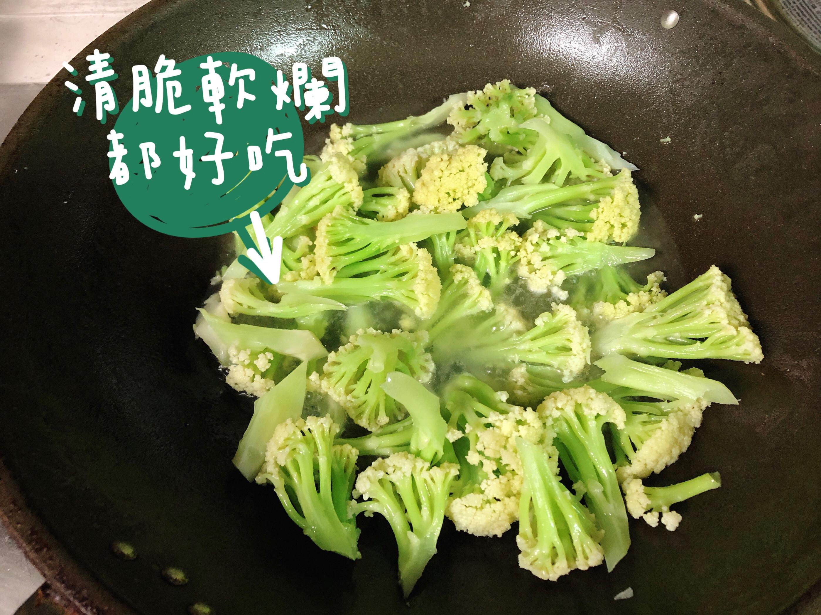 超簡單健康料理:蒜香花椰菜、清炒花椰菜