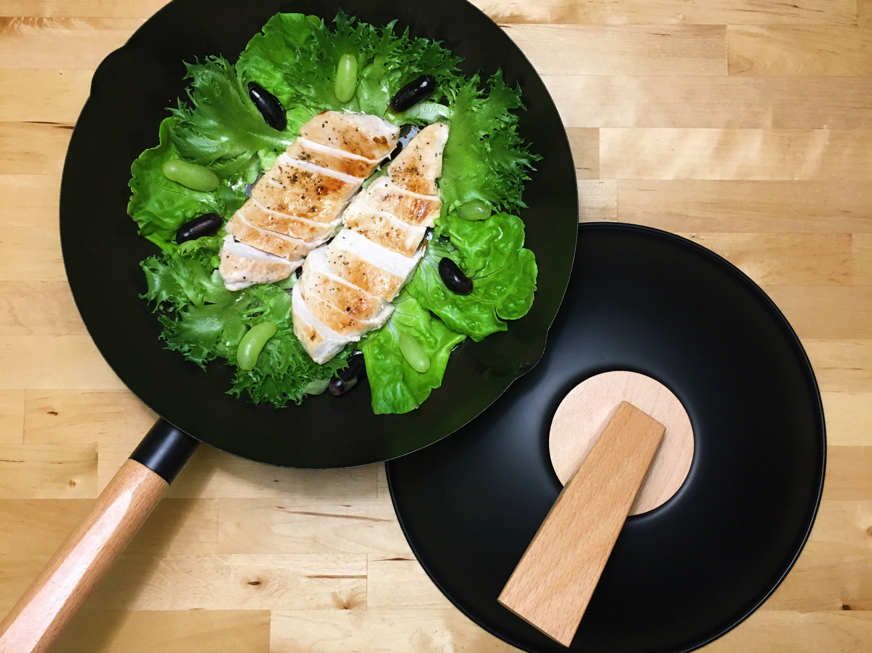 低GI嫩煎海鹽雞胸肉