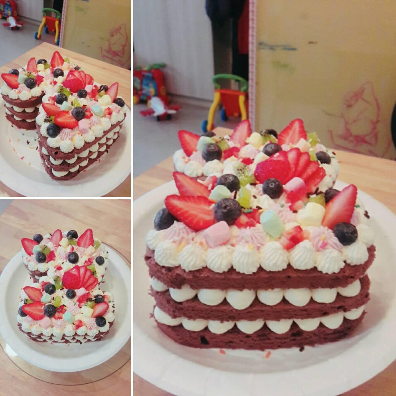 字母蛋糕/數字蛋糕(免烤箱)