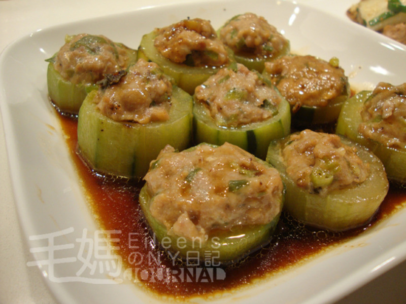 蒸釀黃瓜 Steamed Stuffed Cucumber