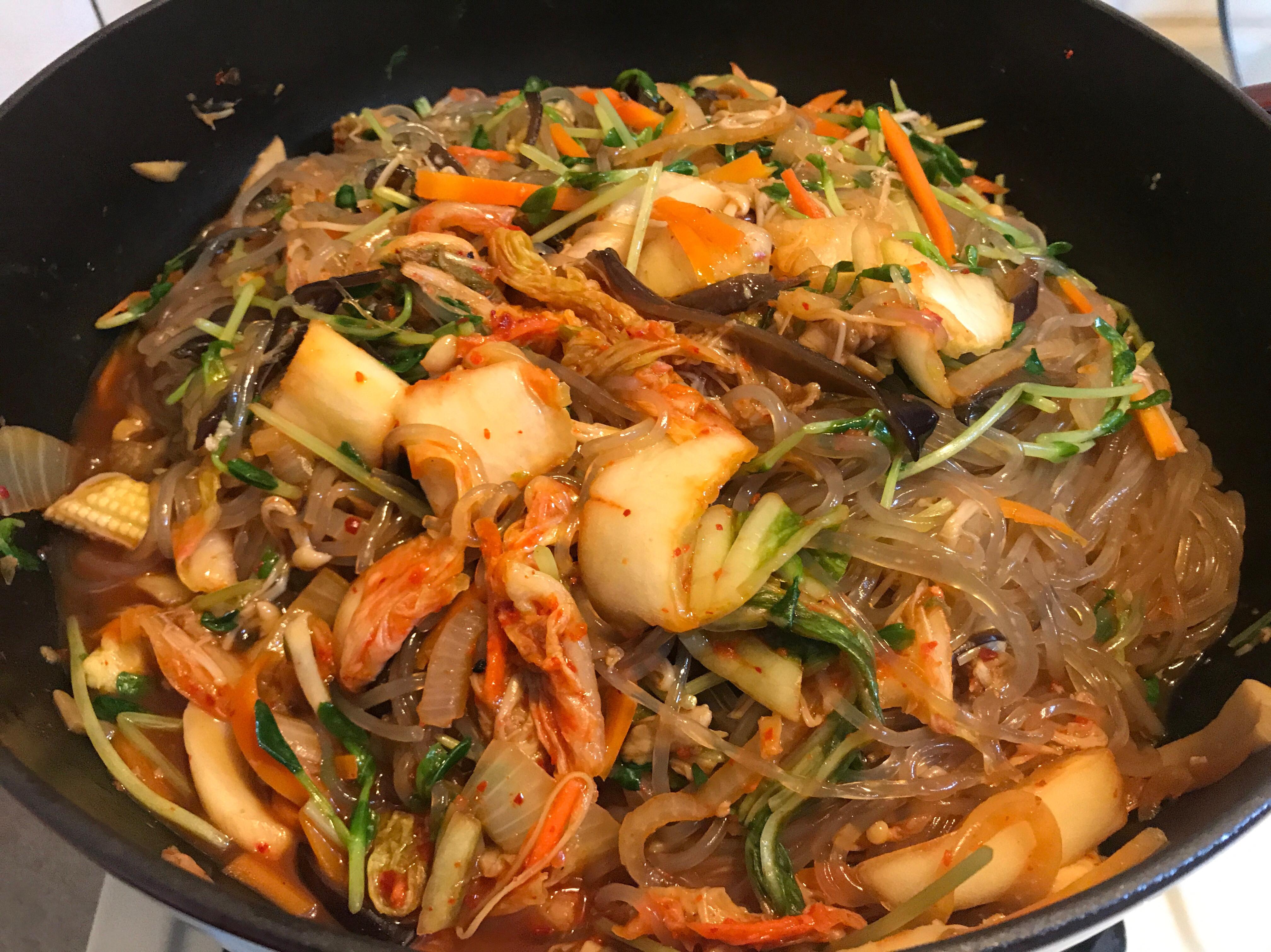 韓式雜菜(冬粉)
