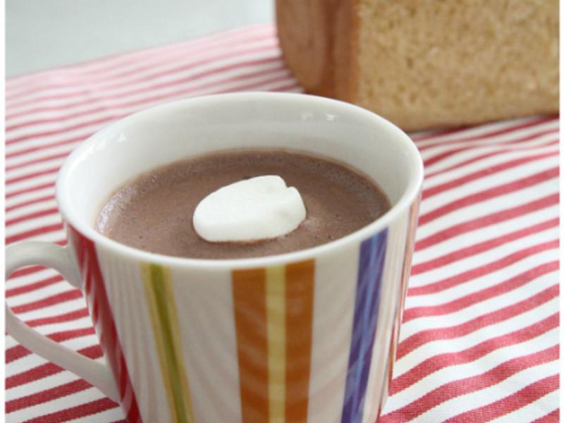 濃郁的法式熱巧克力