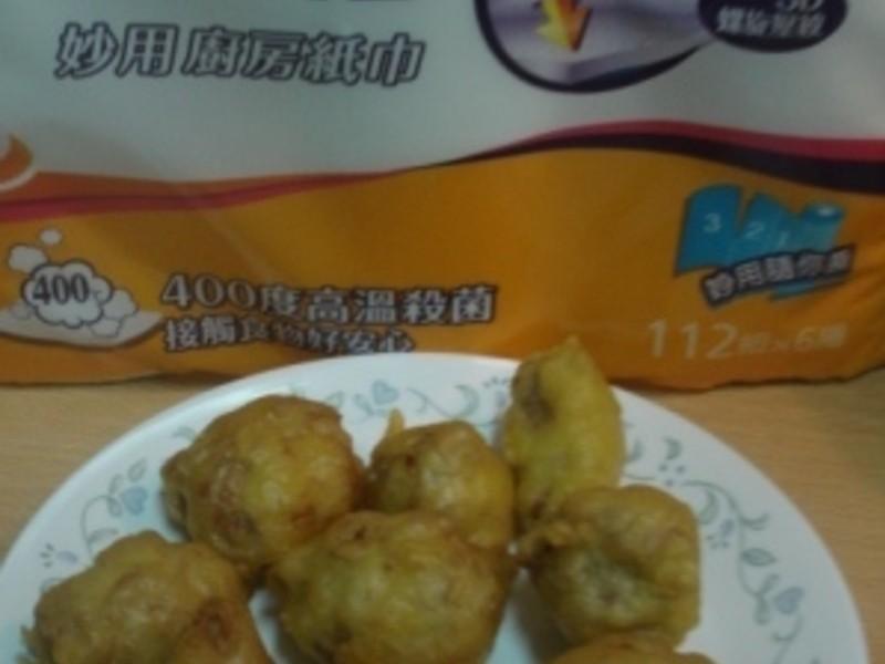 (五月花妙用廚紙)均媽的料理廚房~炸肉蛋