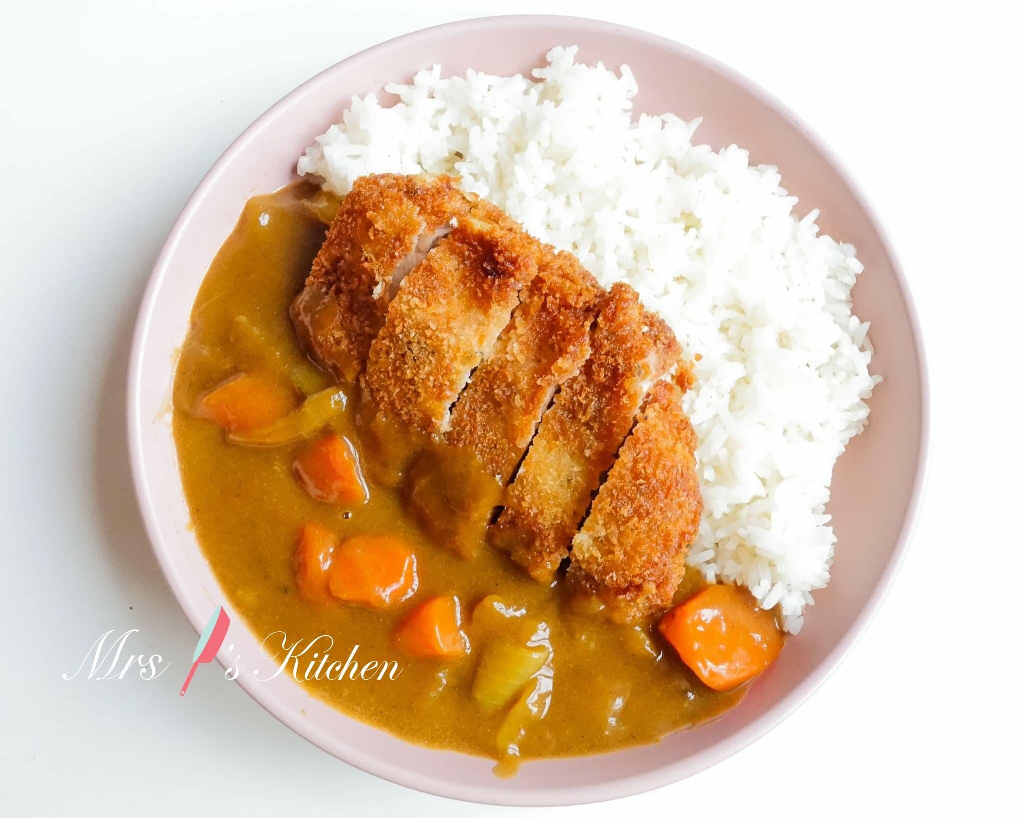 日式咖哩吉列豬排飯