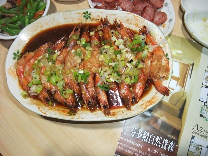 蠔油蒜泥蝦