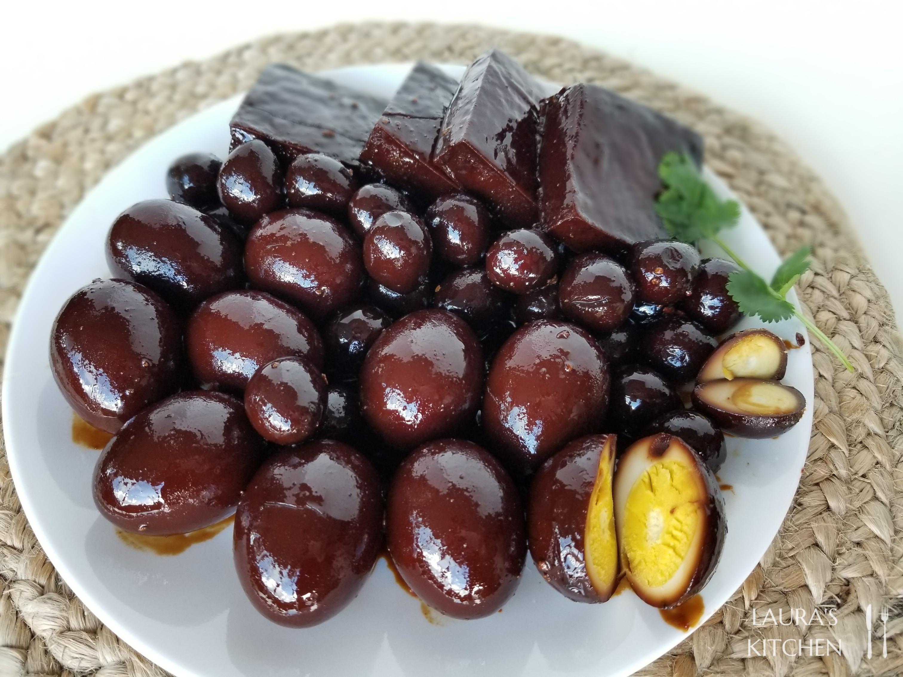 香Q鐵蛋滷豆干