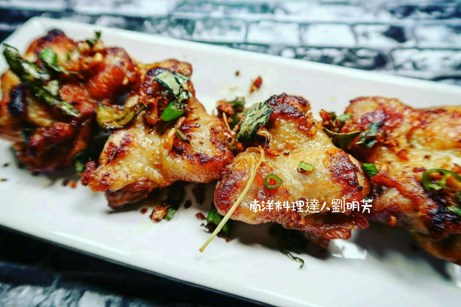 南洋料理達人劉明芳--亞齊咖哩葉炸雞