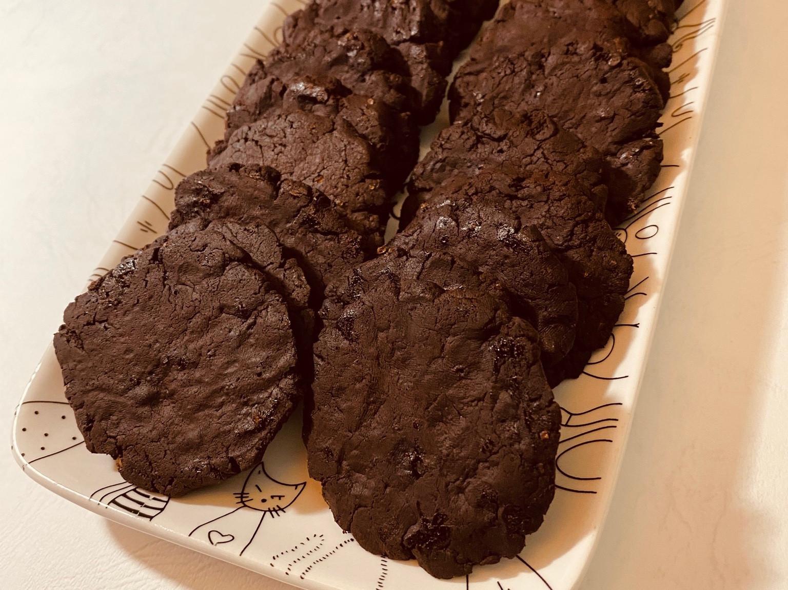 手作巧克力可可餅乾