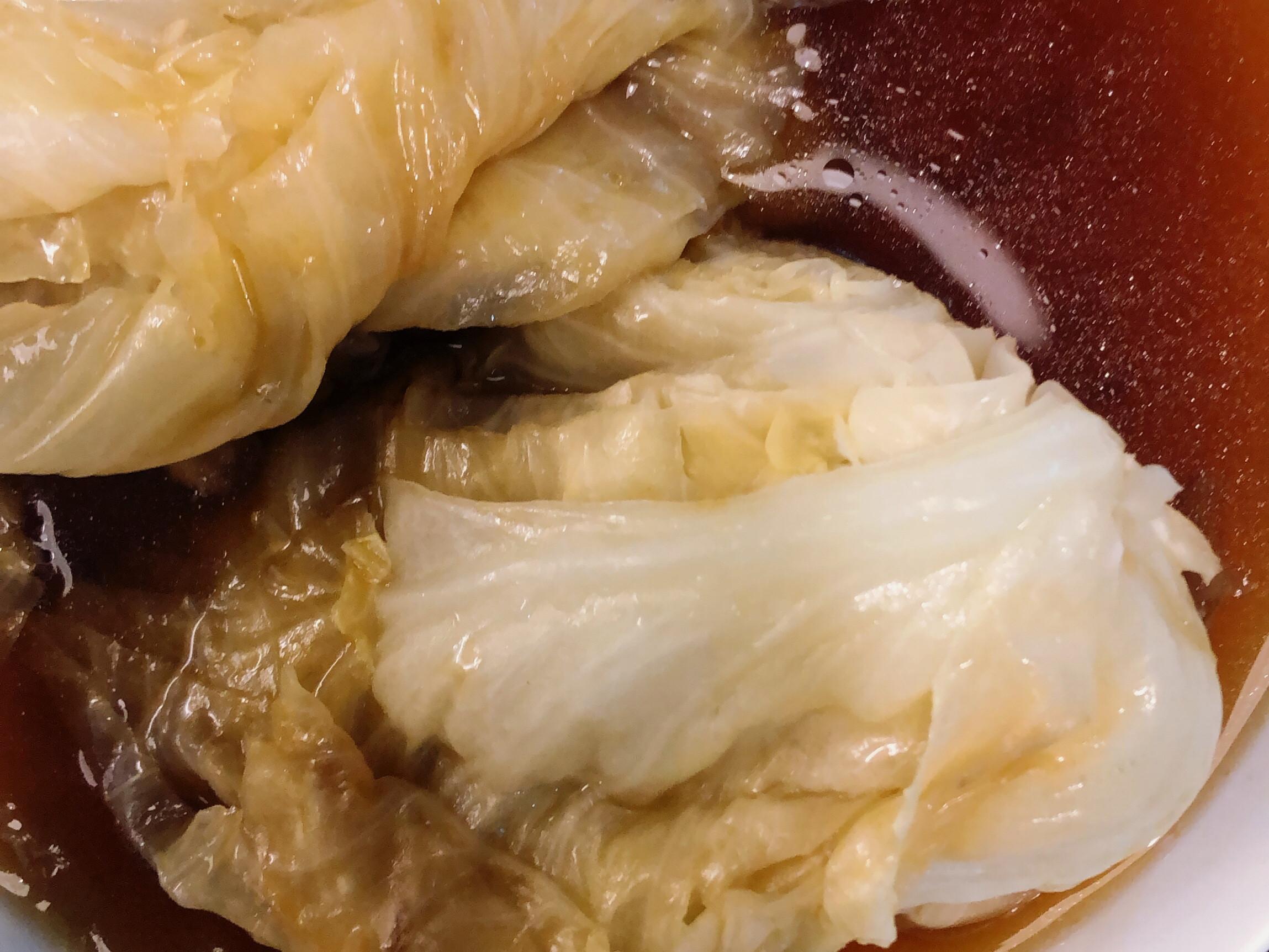 電鍋燉高麗菜