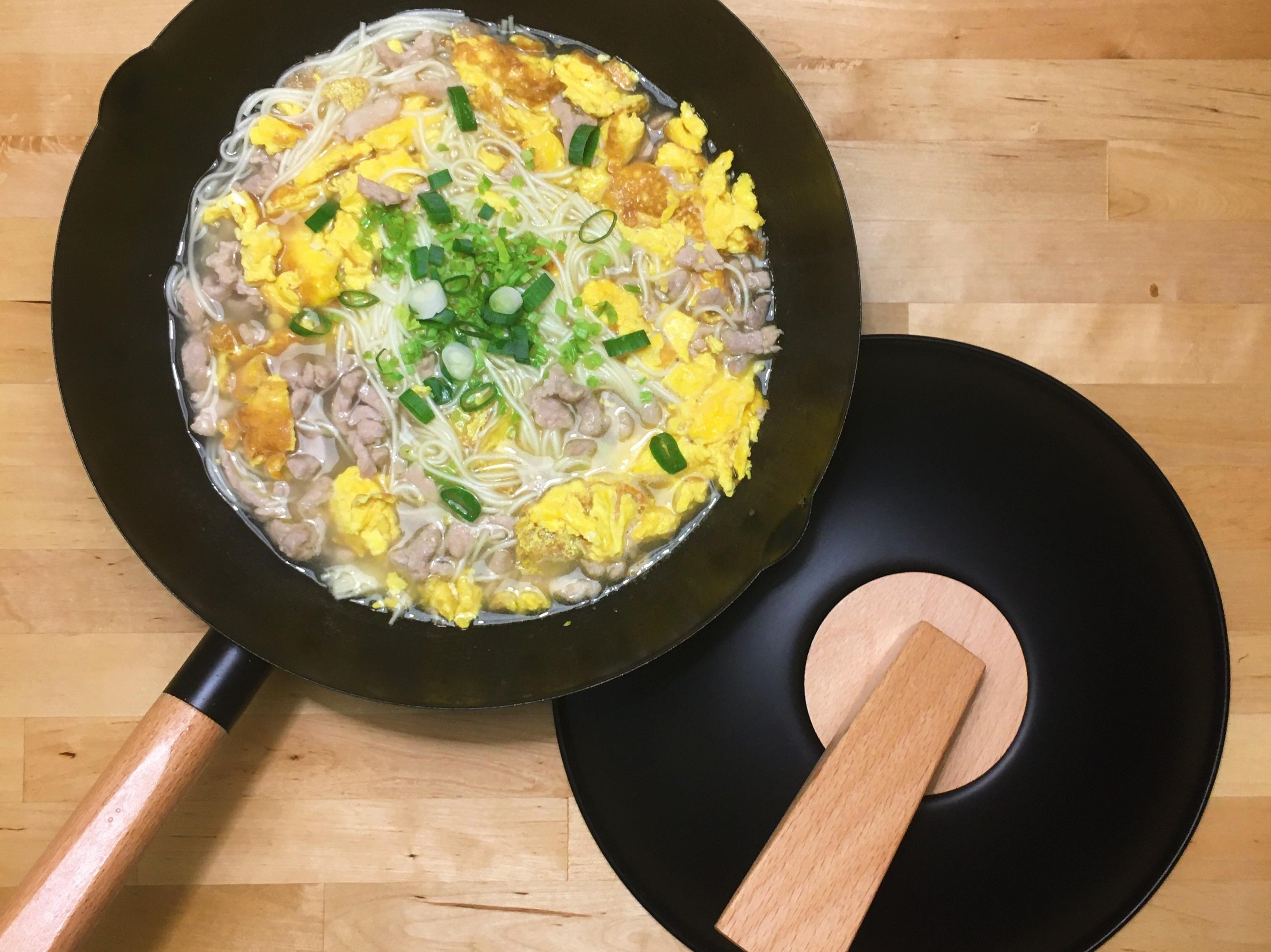 雞蛋肉絲湯麵
