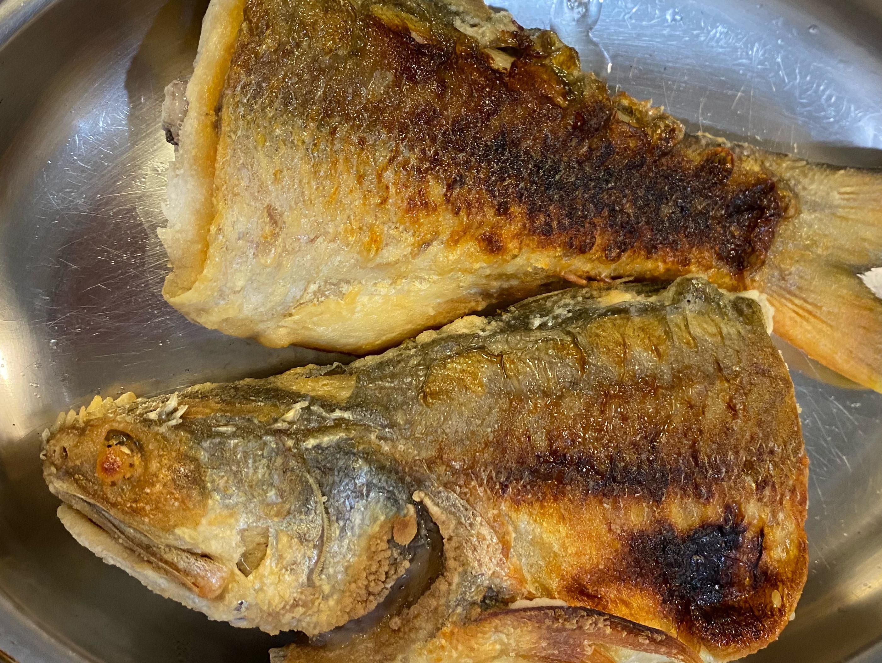 香煎午仔魚