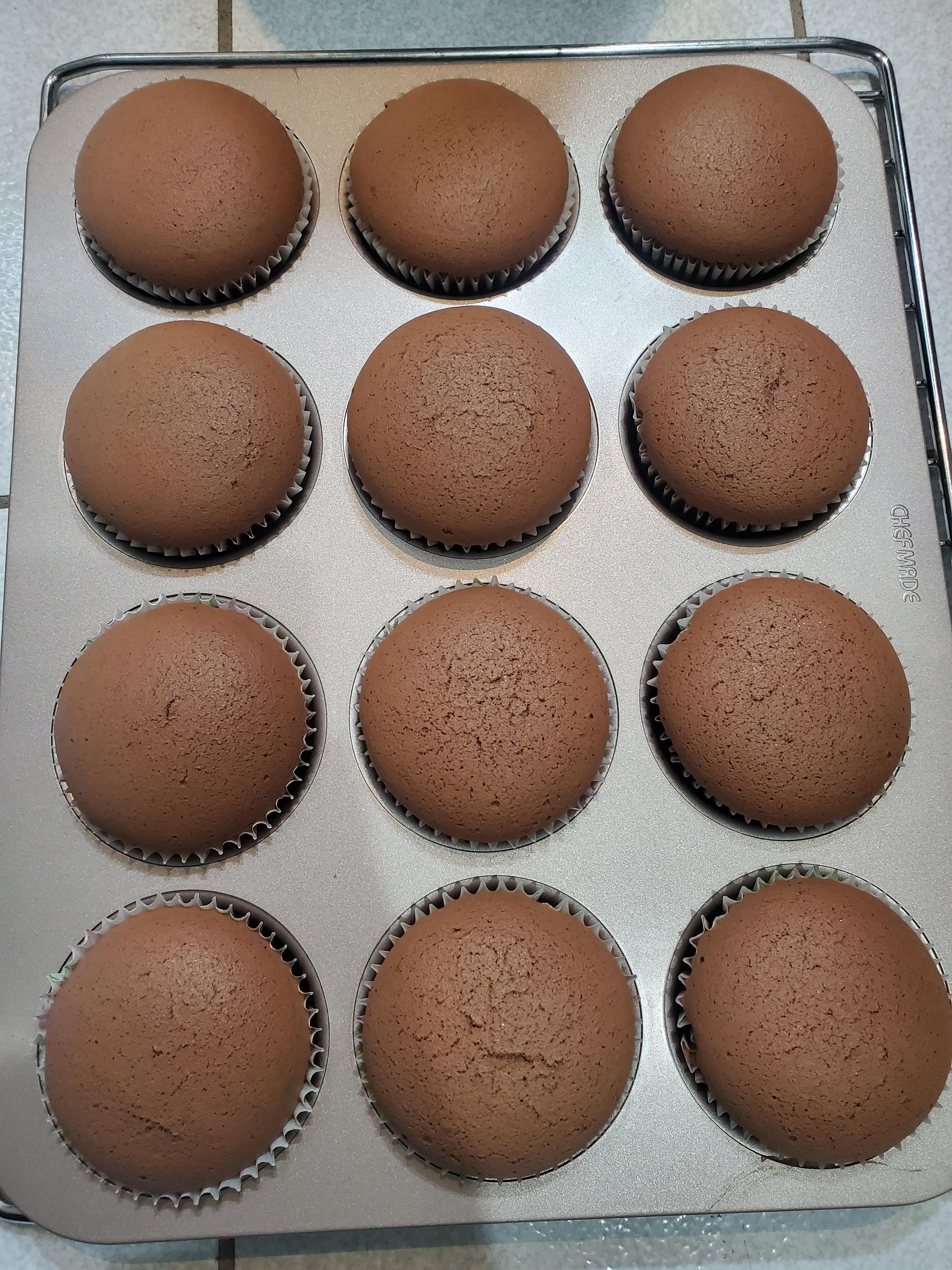 巧克力杯子蛋糕12杯