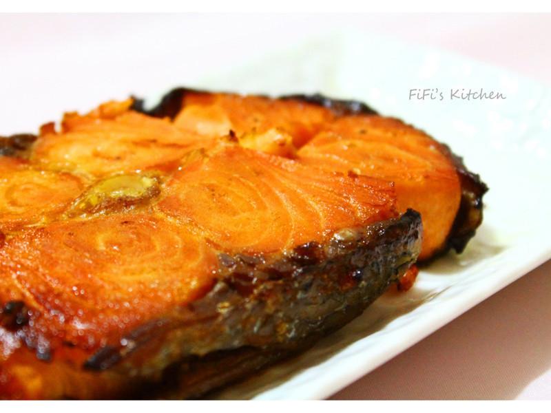 FiFi's Kitchen - 味噌烤鮭魚