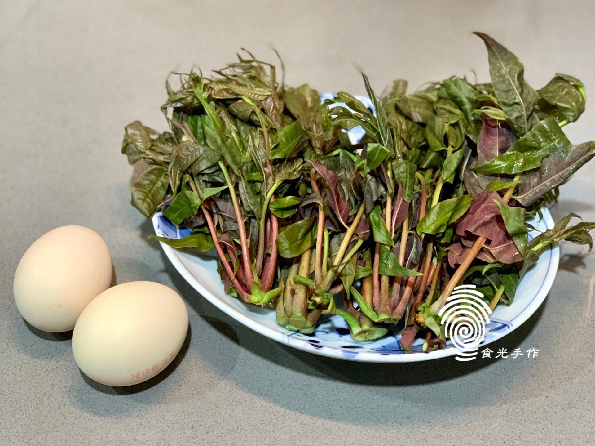 春季佳餚《香椿炒雞蛋》