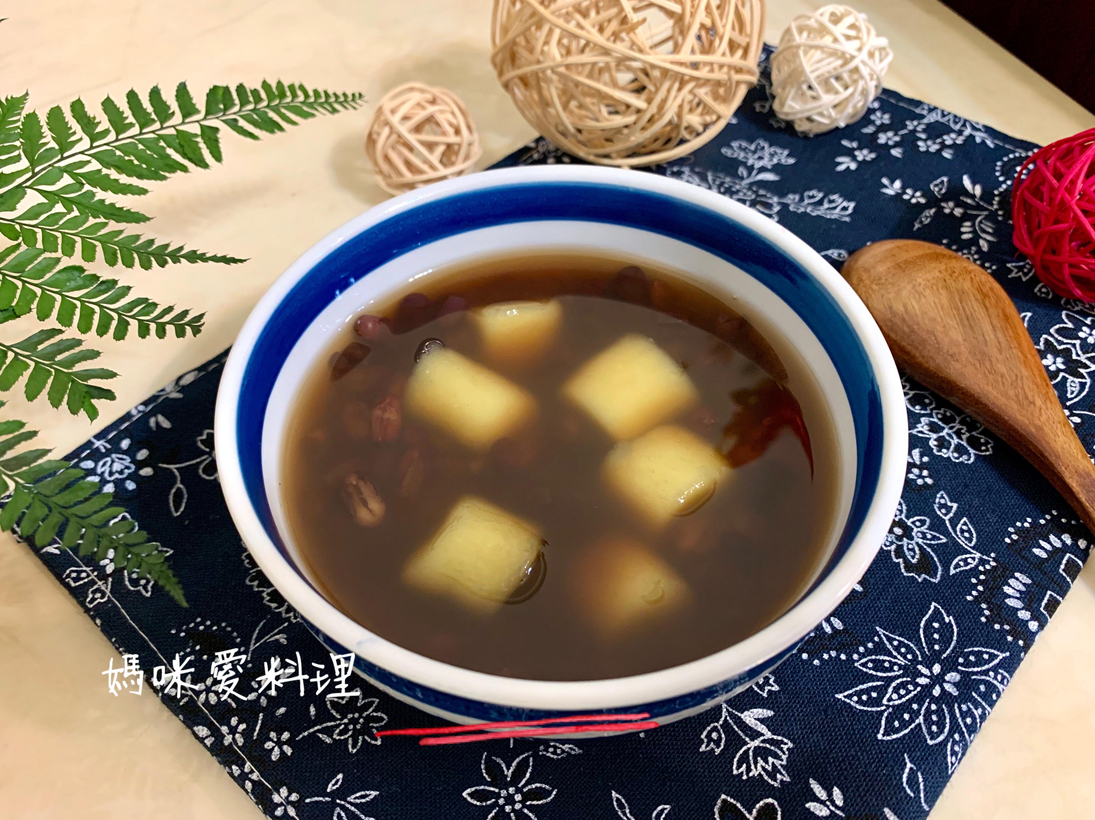 手作地瓜圓&紅豆湯