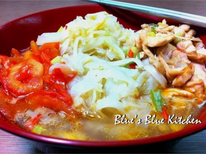 高麗菜雜煮湯麵