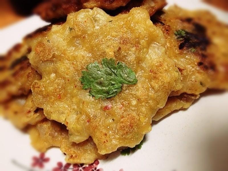 《綠豆絞肉煎餅》---韓式料理