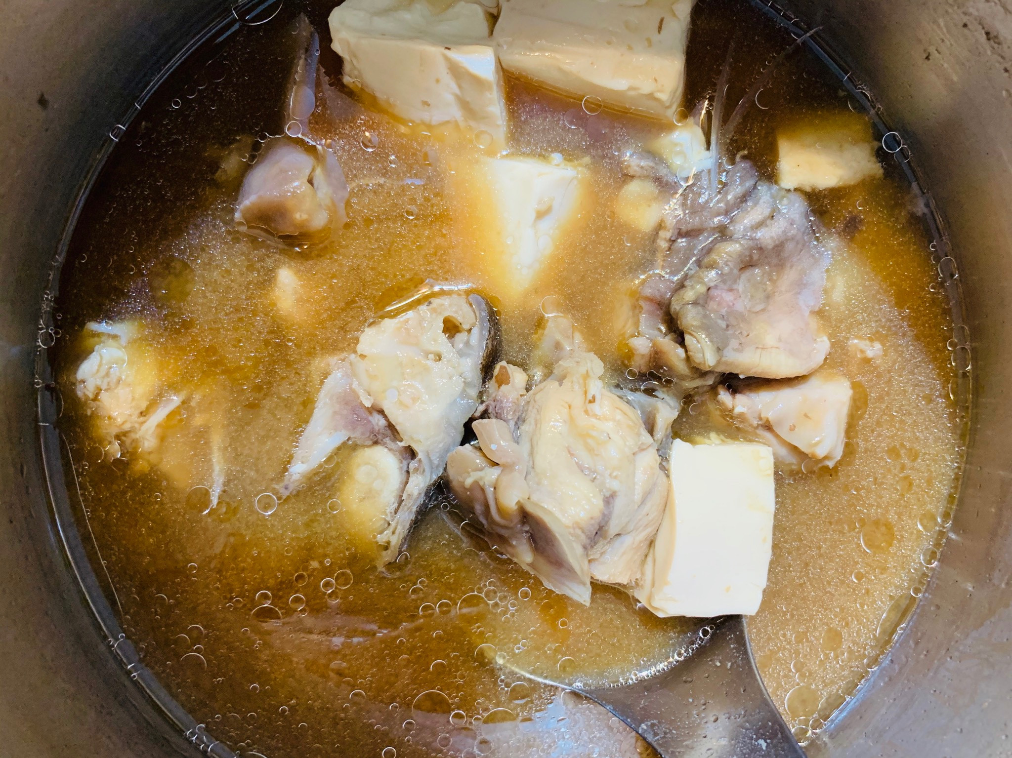 ⭐️最愛媽媽味⭐️味增魚豆腐湯