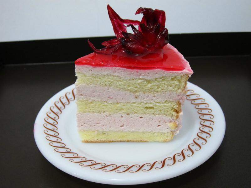 洛神花慕斯蛋糕