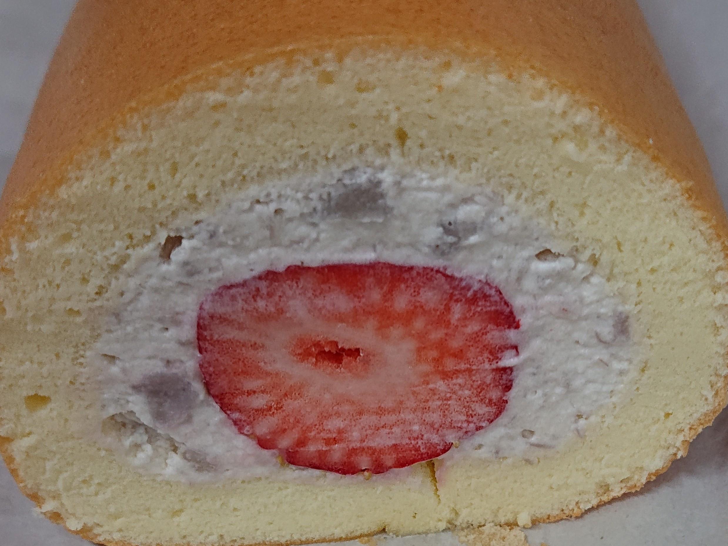 芋頭草莓生乳捲