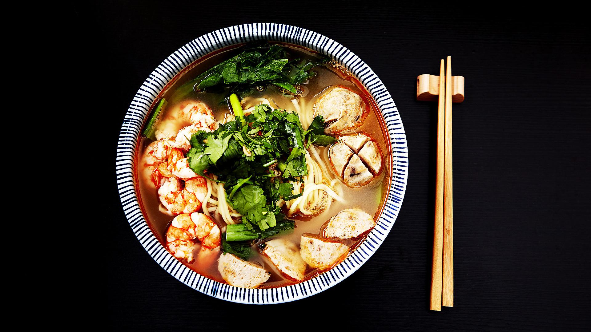 食煮#21 鮮蝦湯麵