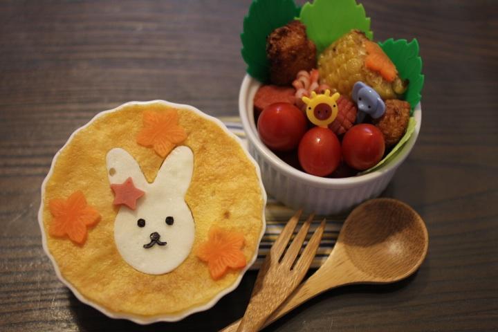 Kitty喵-小白兔高麗菜炒飯