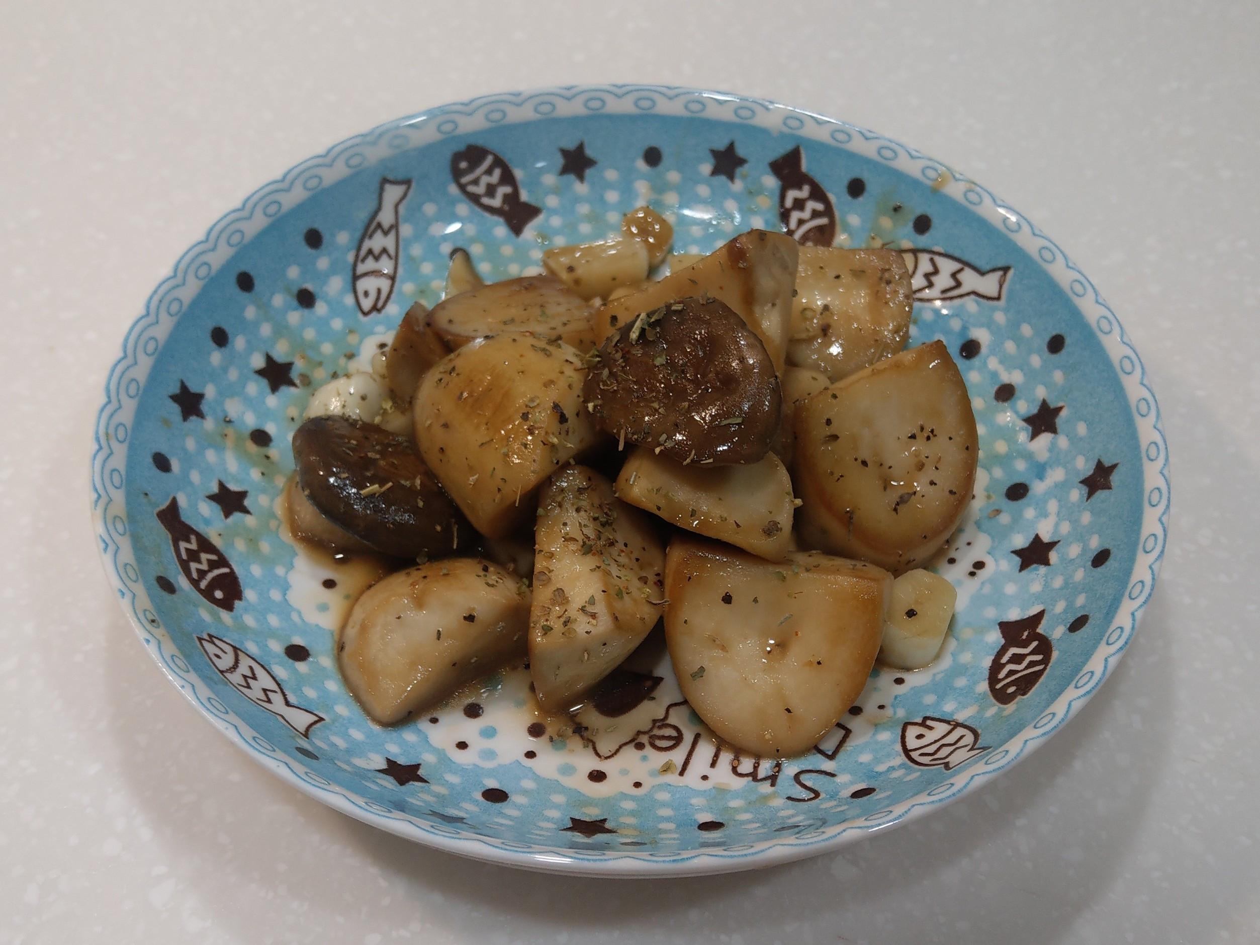 奶油醬燒杏鮑菇