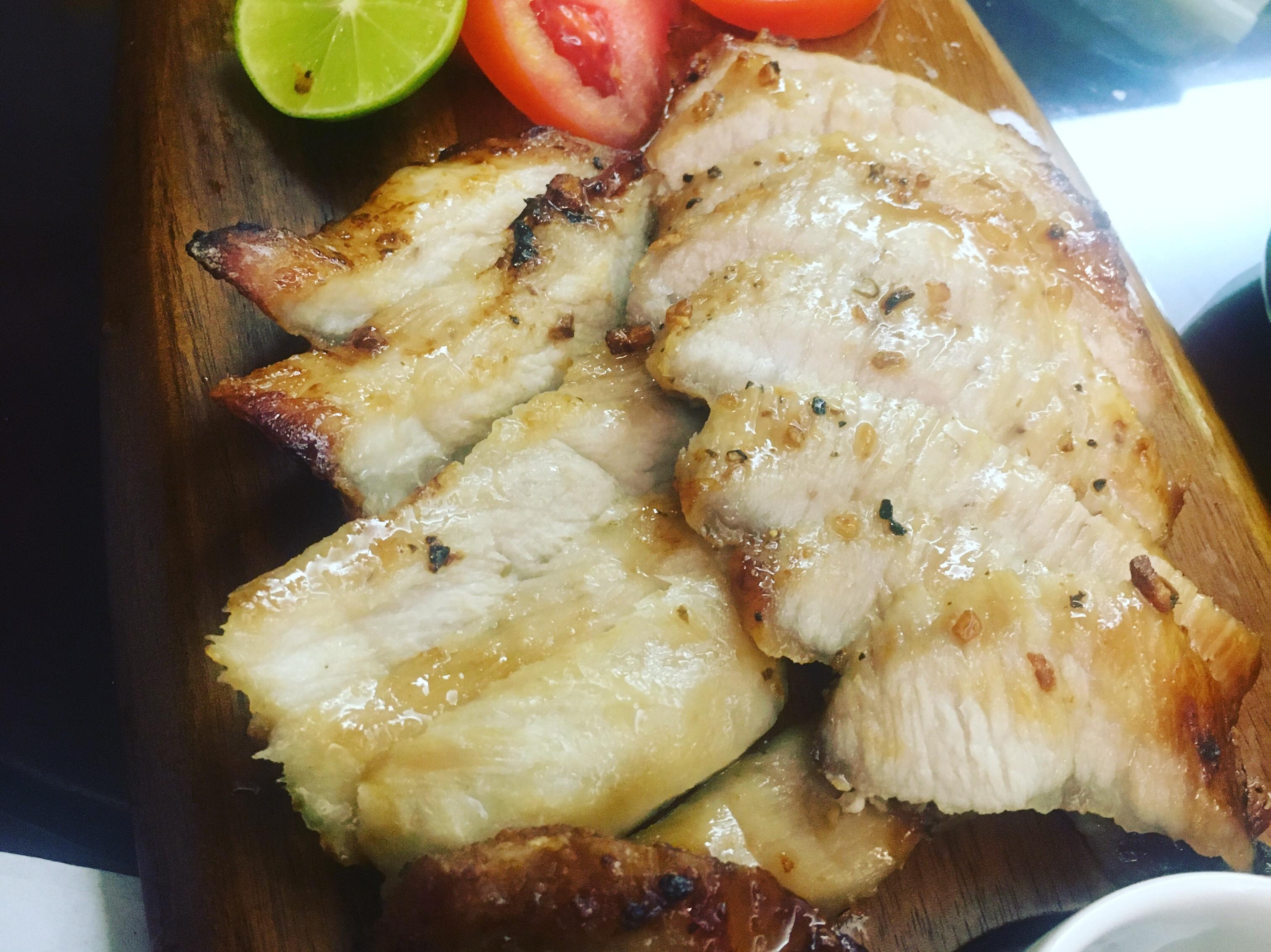 簡易豬頸肉(氣炸鍋)