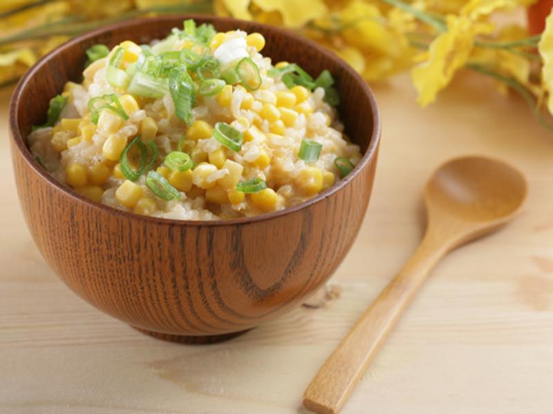 滴雞精糙米粥
