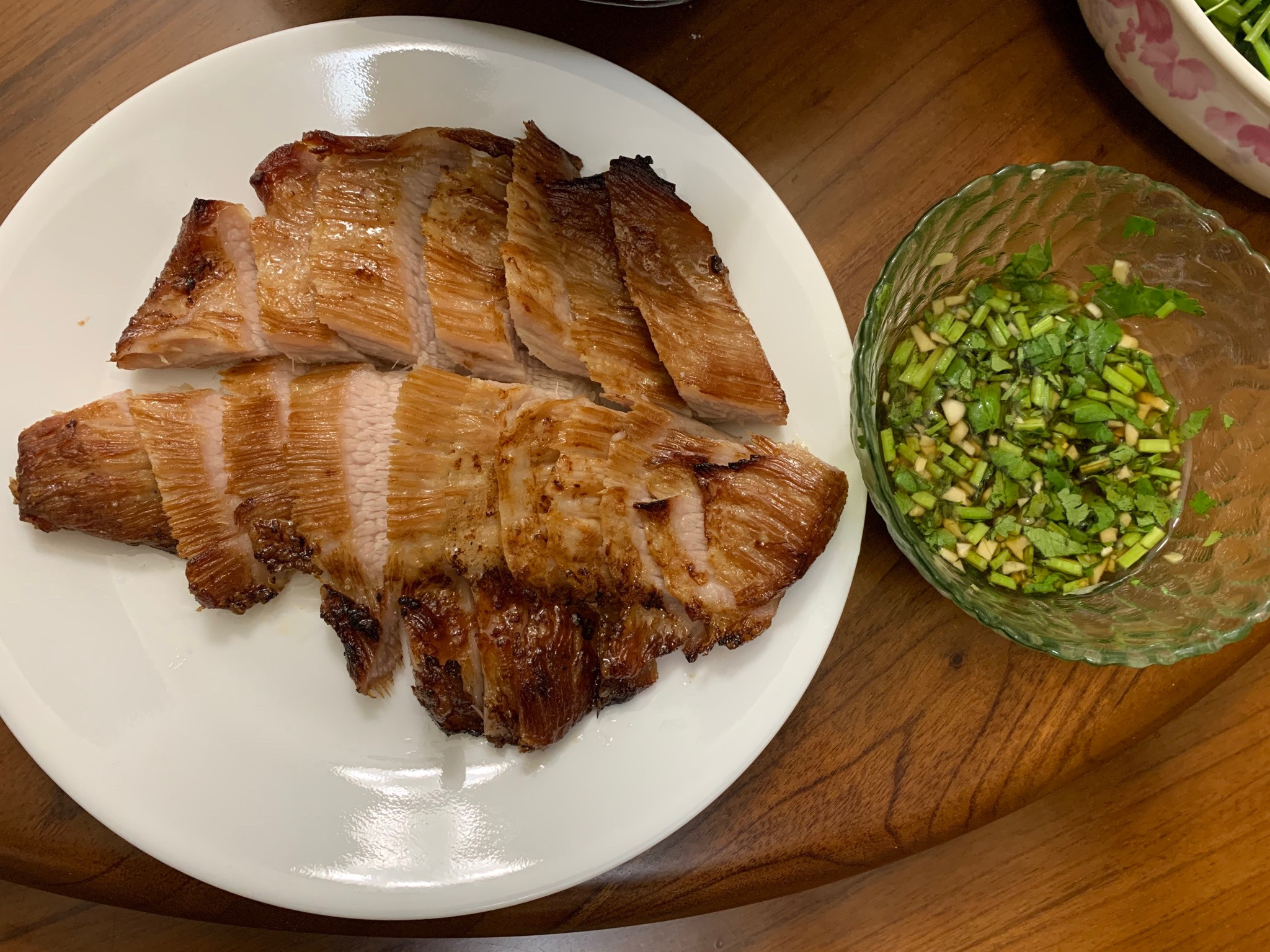 泰式嫩烤松阪豬(氣炸鍋/烤箱 皆可)