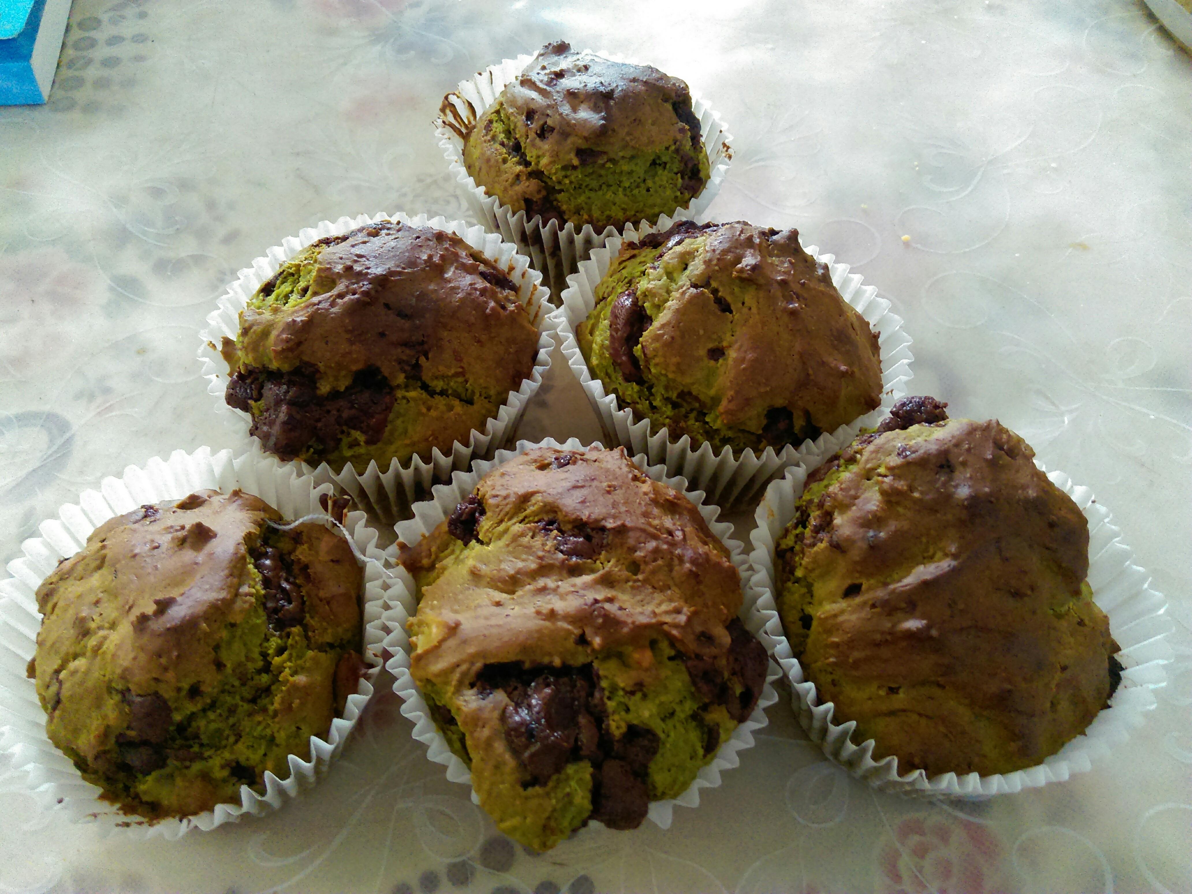 綠茶巧克力瑪芬