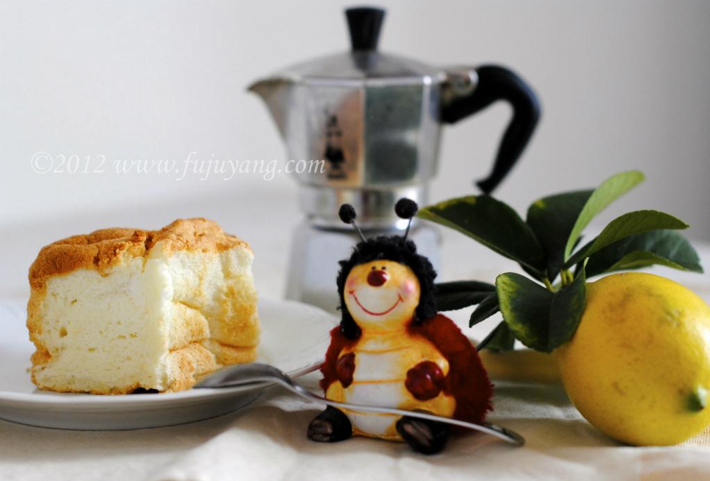 【義大利美食學院】檸檬天使蛋糕