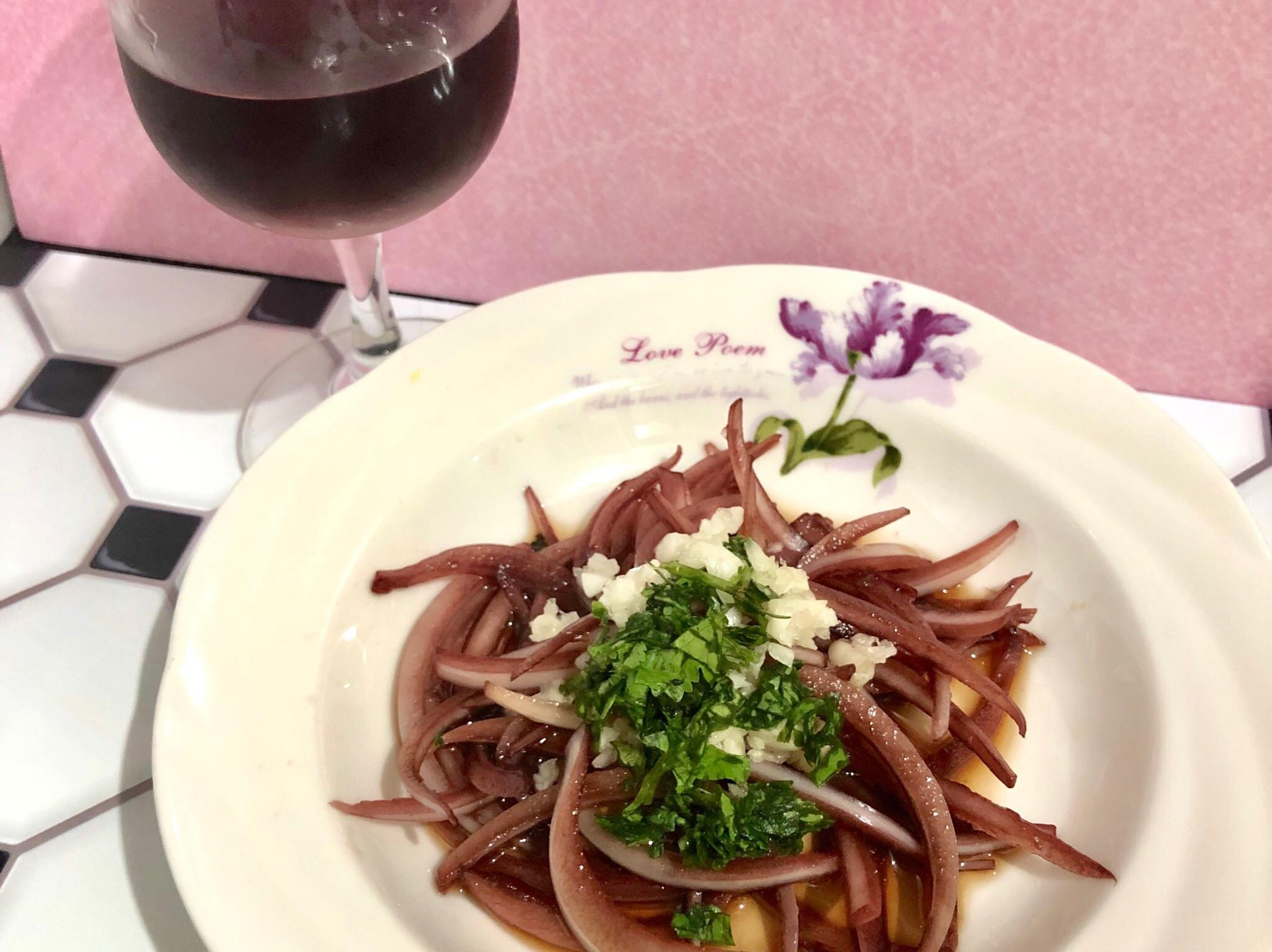 自製洋蔥紅酒🍷涼拌洋蔥沙拉