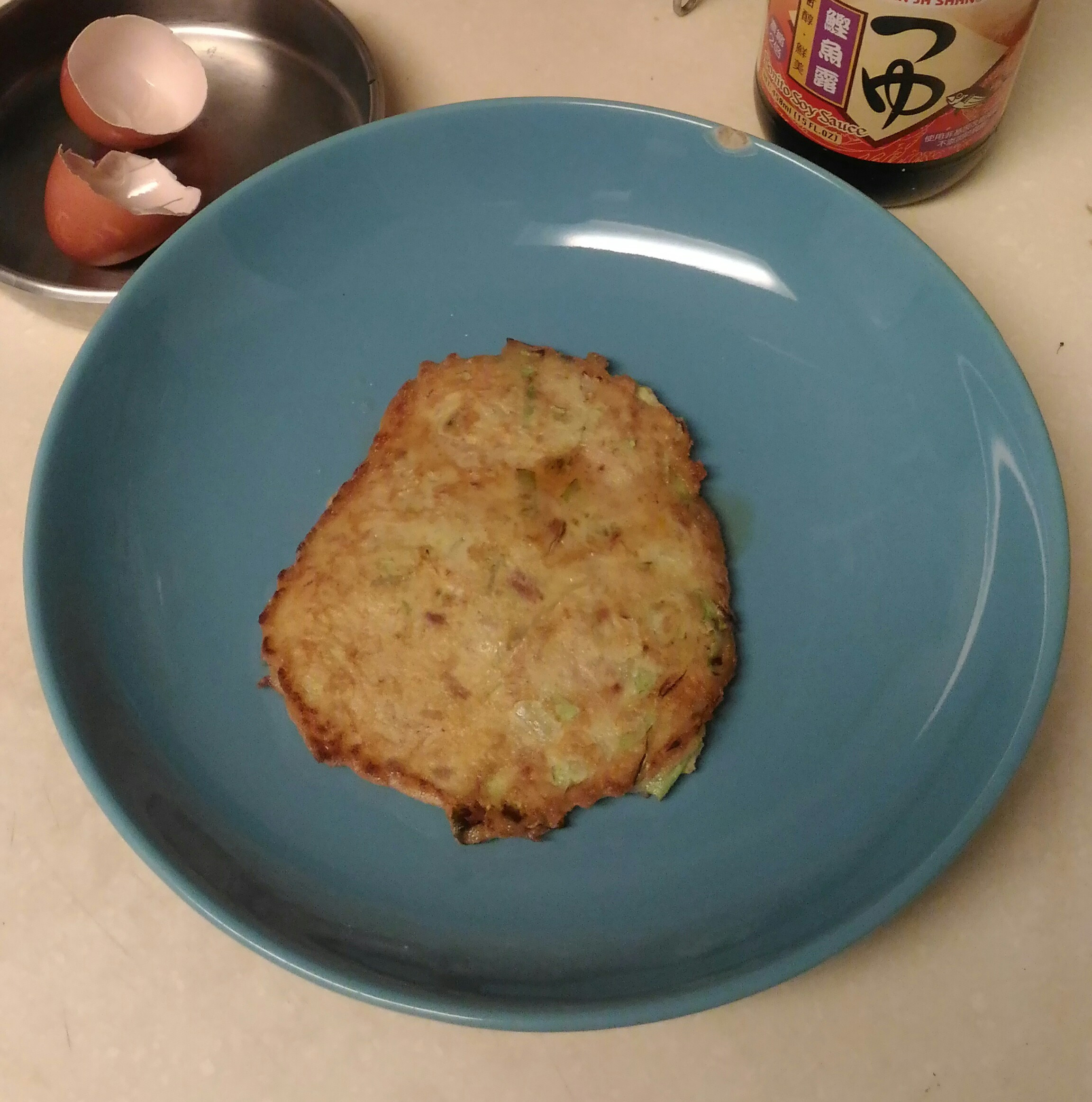 簡易鮪魚高麗菜煎餅