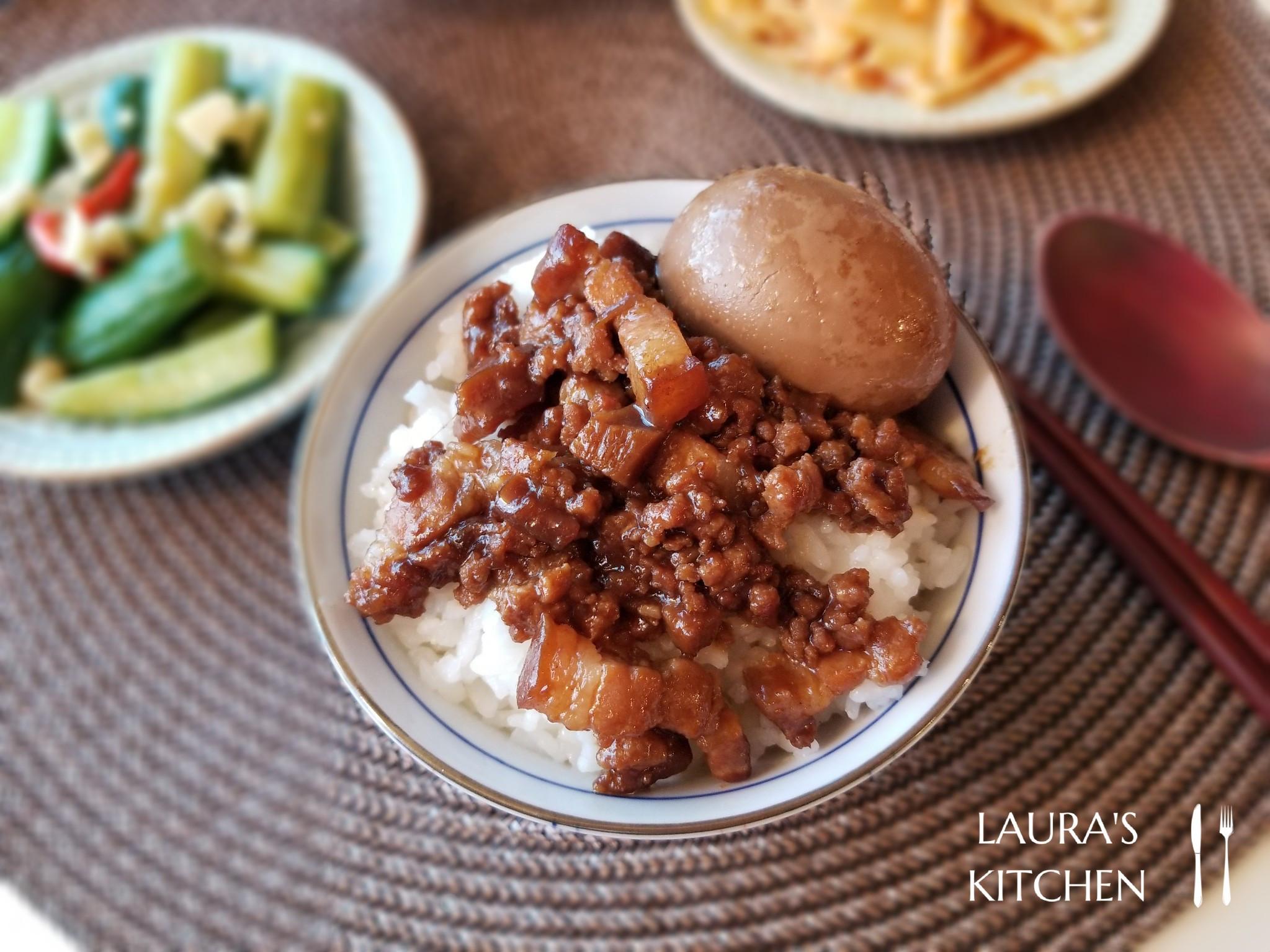 香菇滷肉燥(滷肉飯、台中炒麵、擔仔麵)