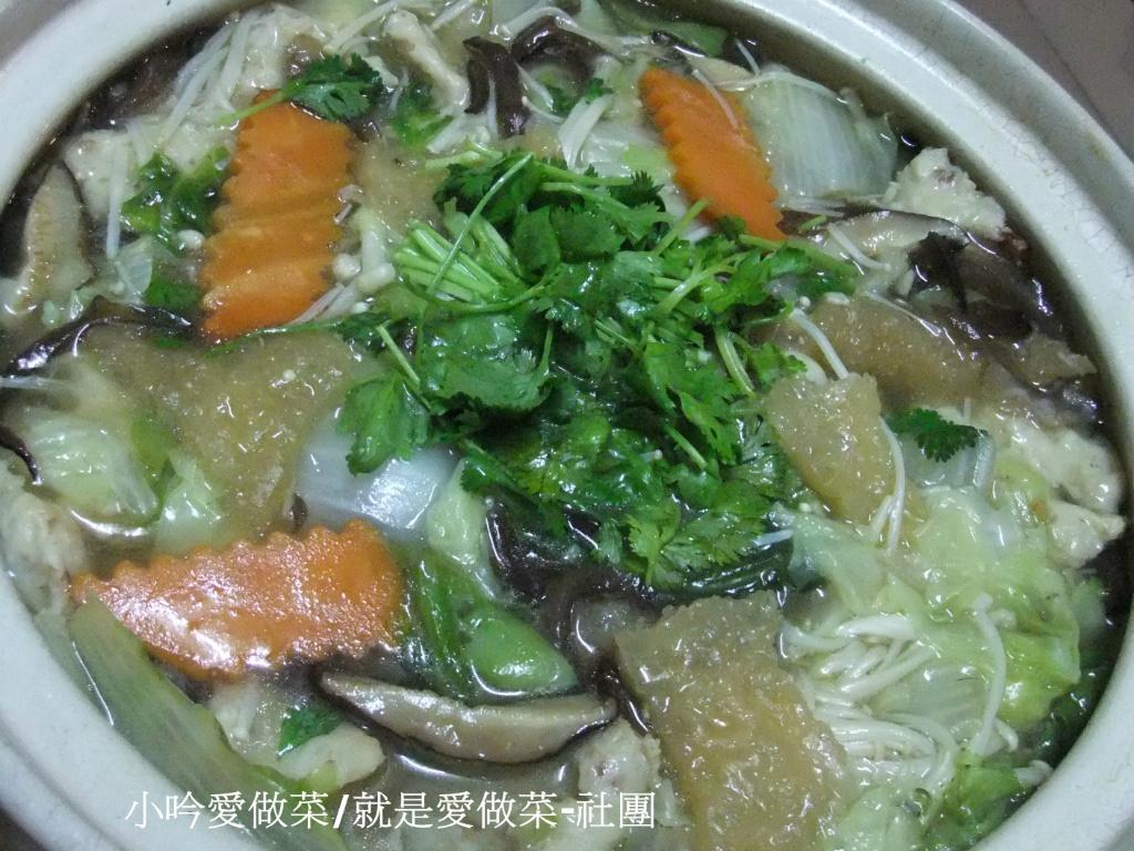 小吟愛做菜~『澎皮肉羮白菜魯』