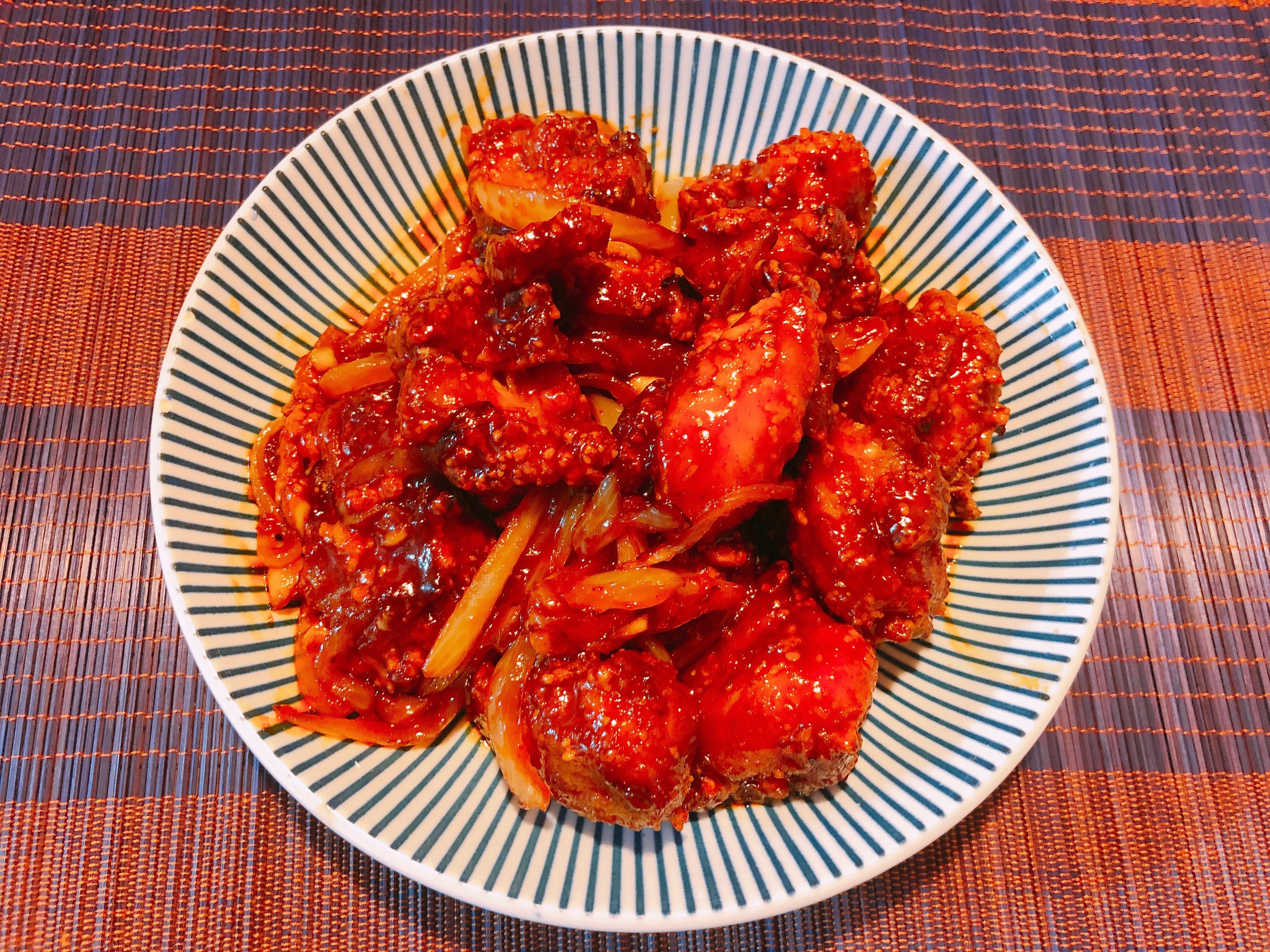 氣炸鍋料理-韓式炸雞