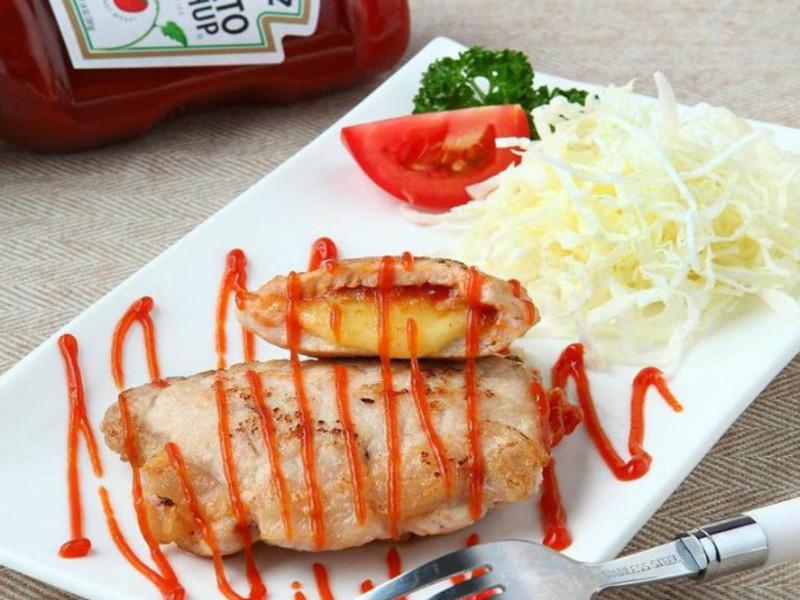 亨氏番茄醬 嫩煎茄香藍帶豬排
