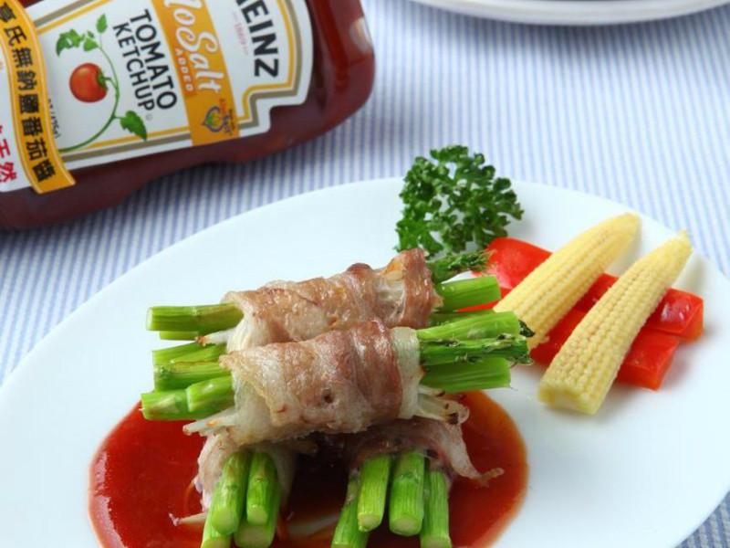 亨氏番茄醬 香烤洋蔥蘆筍培根捲