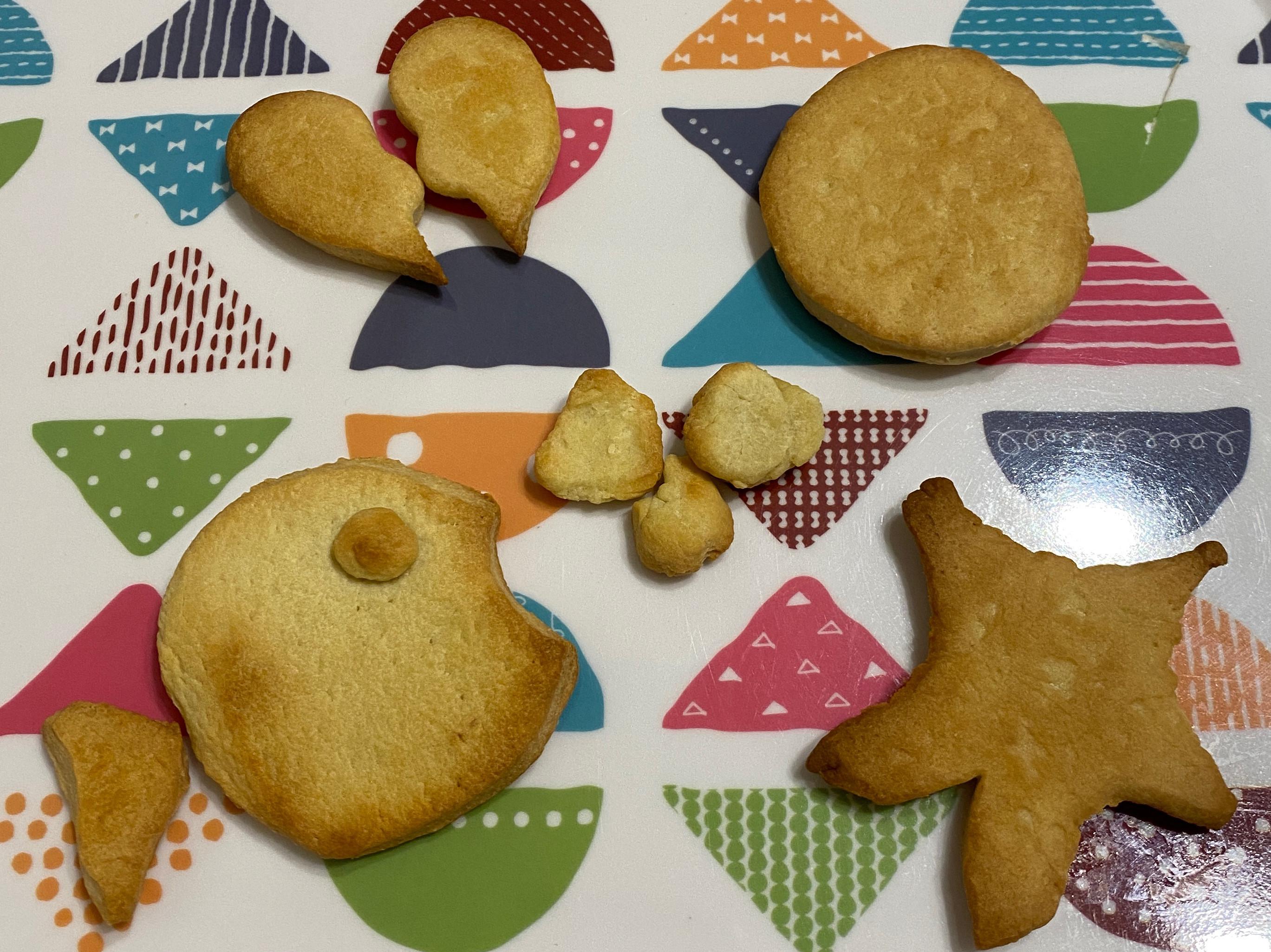 烤餅乾⭐️小小烤箱