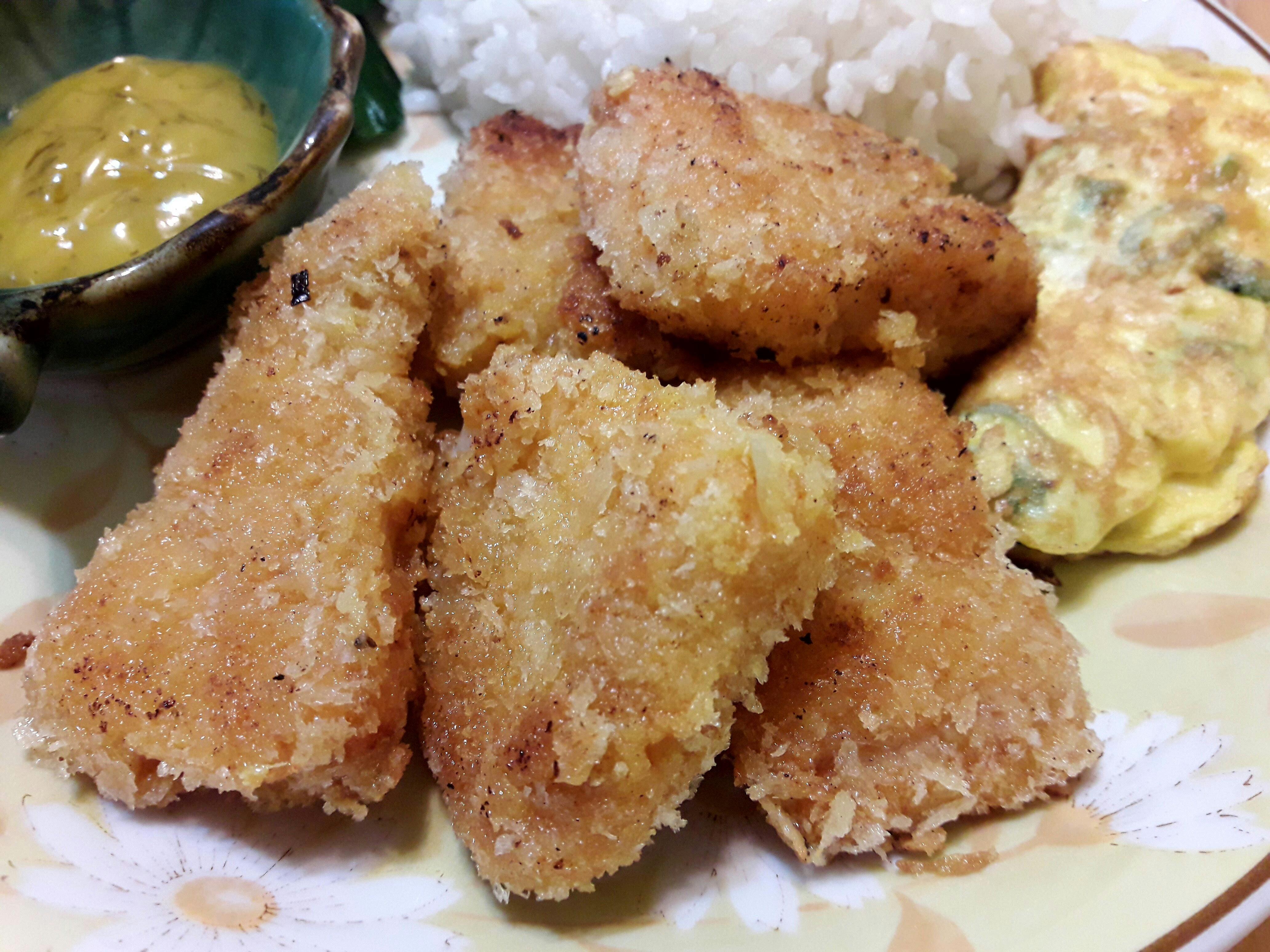 【自創料理】咖哩炸魚酥