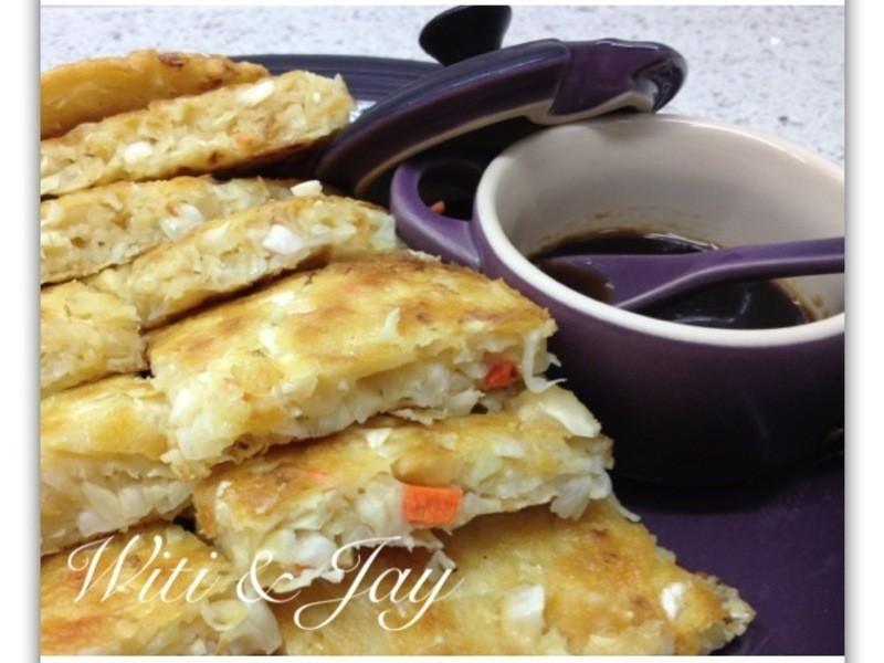 [Witi✿Kitchen]茶油鮮蔬高麗菜煎餅