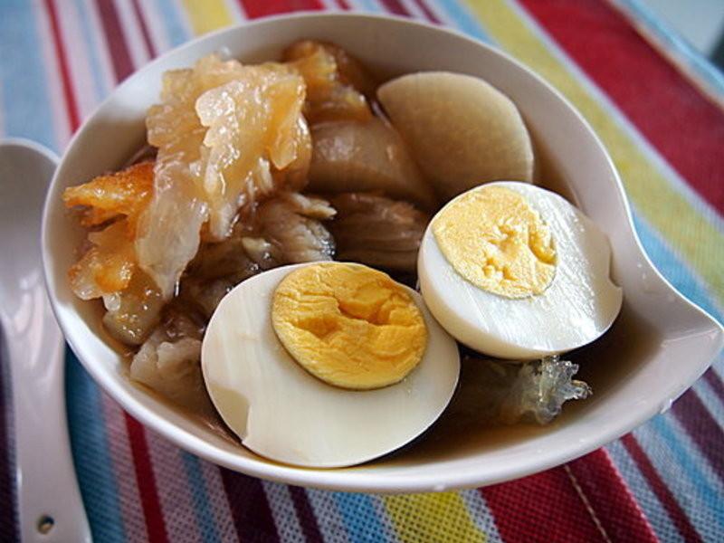 蘿蔔牛筋加蛋(關東煮法)