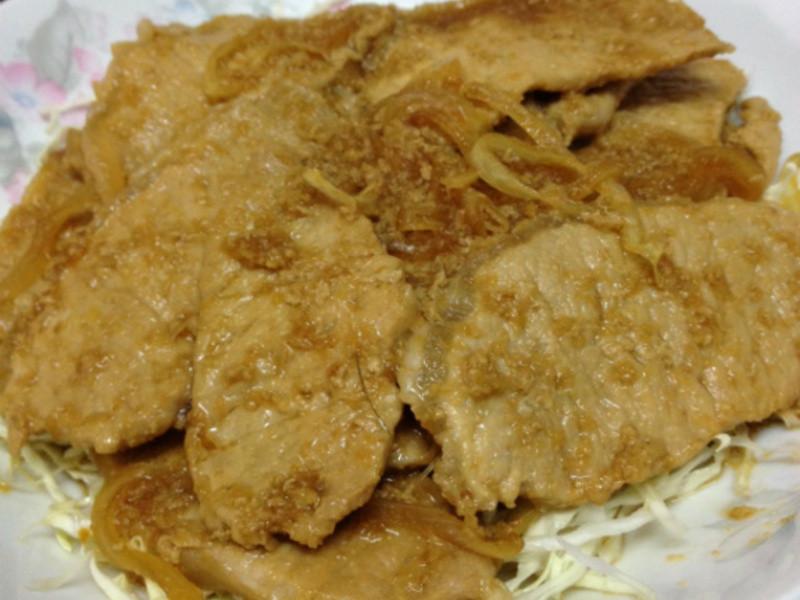生薑煎豬肉 (薑燒豬肉)
